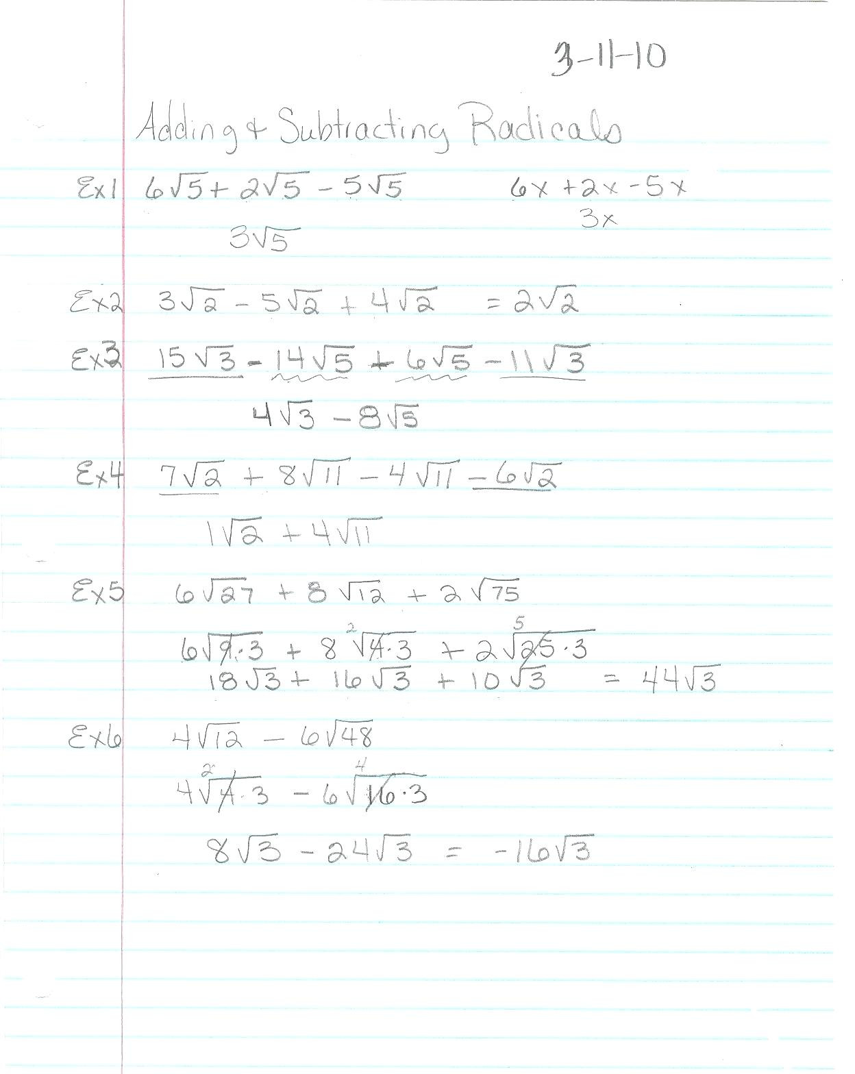 Factoring Quadratic Equations Worksheet Education Template