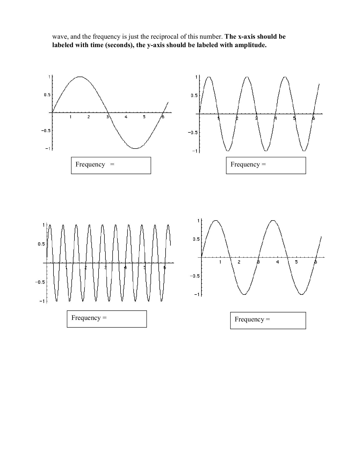 30 Waves Worksheet Answer Key