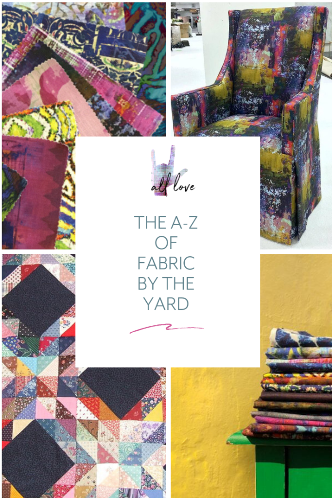 We broke down the definitions of some of the trickiest words in the textile sphere. With this guide by your side, we bet you can haggle with suppliers and convince them that you're a fabric by the yard pro.