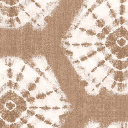 Shibori / Sand - Fabric by the Yard