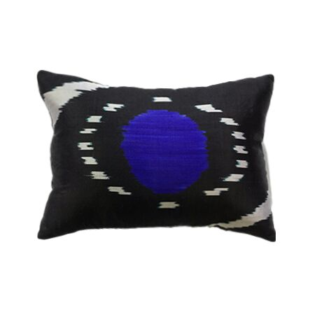 Black Velvet / Vintage Tibetan Pillow