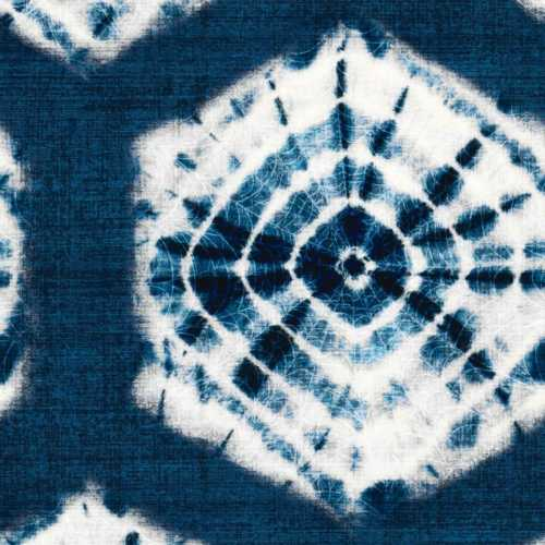 Shibori / Indigo - Fabric by the Yard