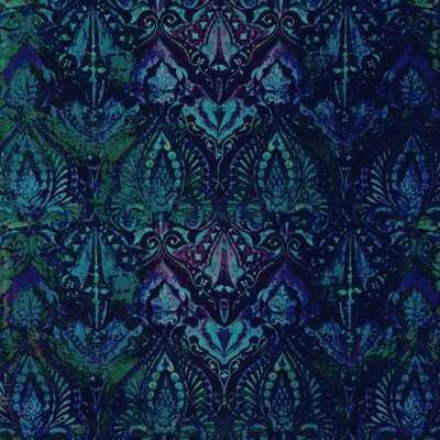 neela blue peel and stick wallpaper