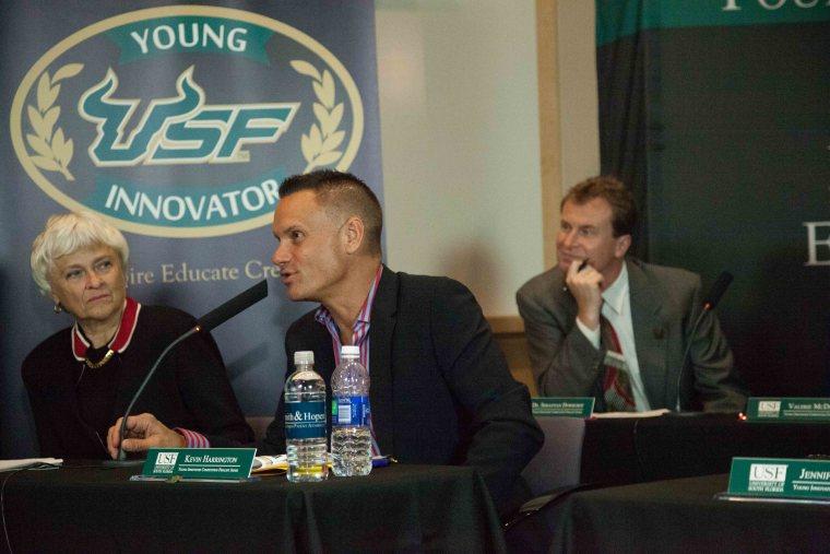 Kevin Harrington at USF