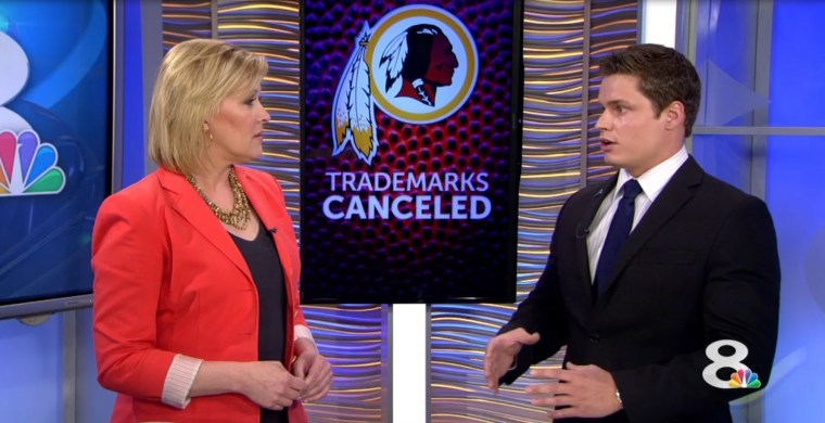 Andriy Lytvyn on NBC regarding NFL Redskins trademark