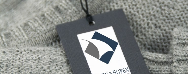 Smith Hopen brand tag on an article of clothing