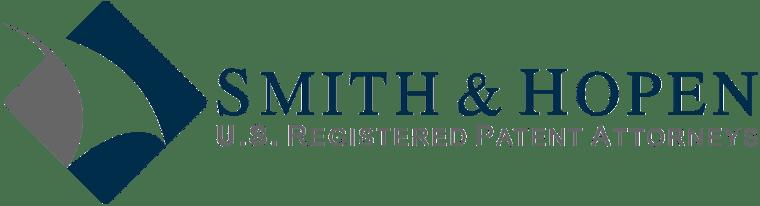 Horizontal Smith & Hopen Law Firm Logo