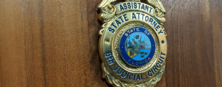 Assistant state attorney badge for 6th judicial circuit