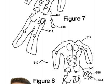 Halloween costume patent
