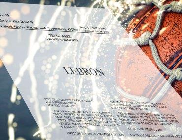Lebron James Trademark Portfolio