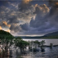 Evening Sky - Clatteringshaws Loch