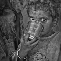 Boy with Cup