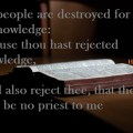 Hosea 4:6 - Open Bible book to get the knowledge of God