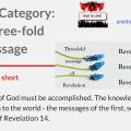 Illustraition-Title-The three-fold message-text-three flowers