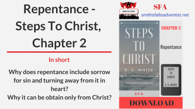 Illustration-Title-Repentance - Steps To Christ, Chapter 2-text-logo