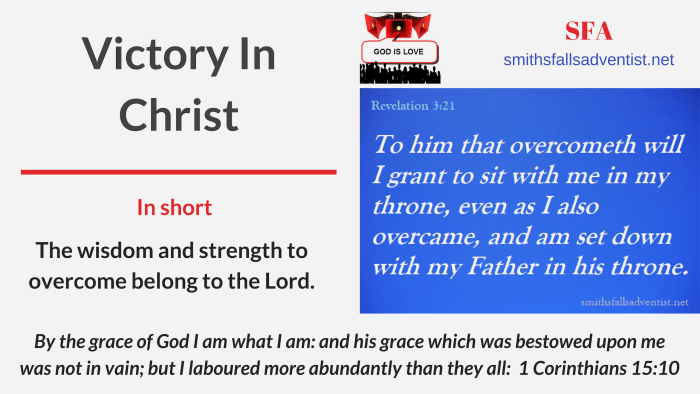 Illustration-Title-Articles Category - Victory in Christ-text-logo