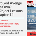 Illustration-Title-Shall Not God Avenge His Own-Christ's Object Lessons, Chapter 14-text-logo