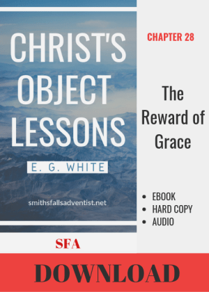 Illustration-Ebook Christ's Object Lessons -The Reward of Grace-download-text