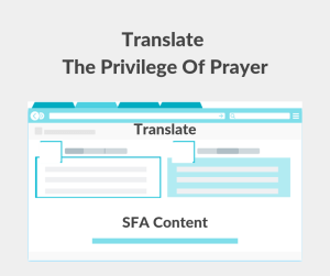 Illustration-Translate The Privilege Of Prayer-text