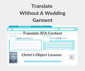 Illustration-Translate Without A Wedding Garment-text
