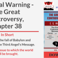 Illustration - Title - The Final Warning - text - book cover - background