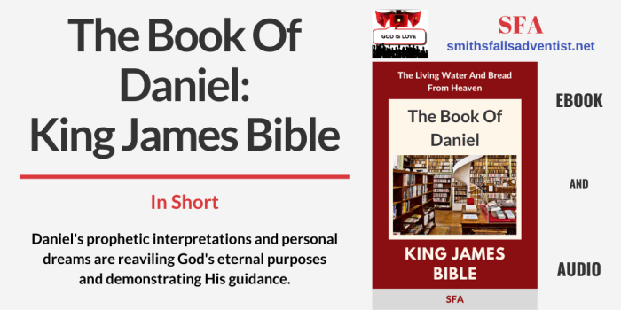 Illustration-Title-The Book Of Daniel - King James Bible-Library-text