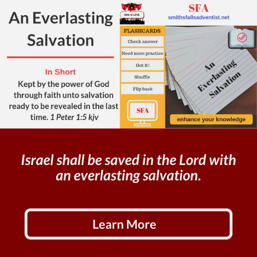 Illustration-background-flashcards-text-title-An Everlasting Salvation-Bible verse