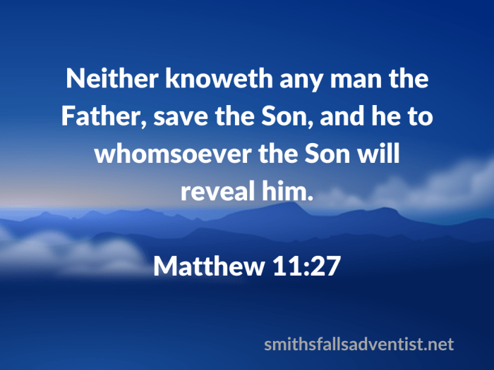 Illustration-background-cloudy sky-title-The Son will reveal in Matthew 11 verse 27-text-Bible verse
