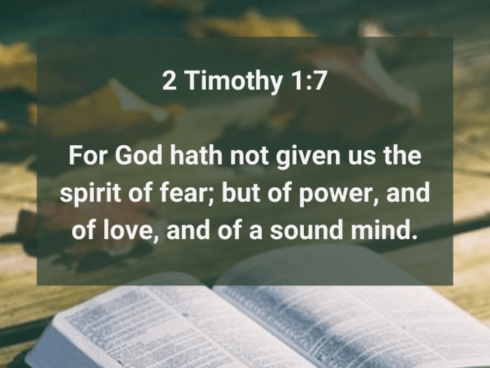 Illustration-background-open book on wooden table and falling lives-title-A sound mind in 2 Timothy 1 verse 7-text-Bible verse