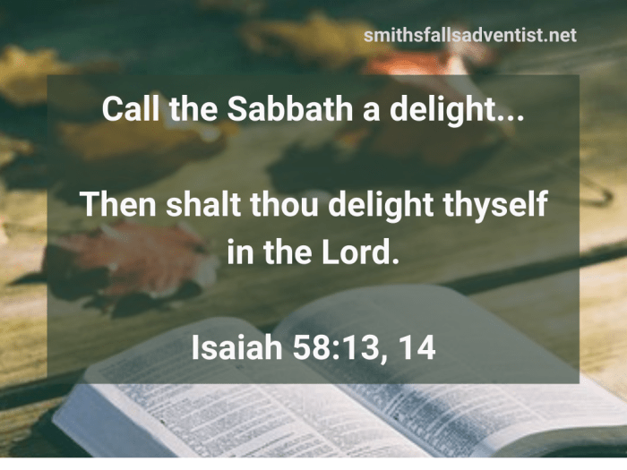Illustration-background-open book on table-title-Call the Sabbath a delight in Isaiah 58 verses 13 and 14-Bible text