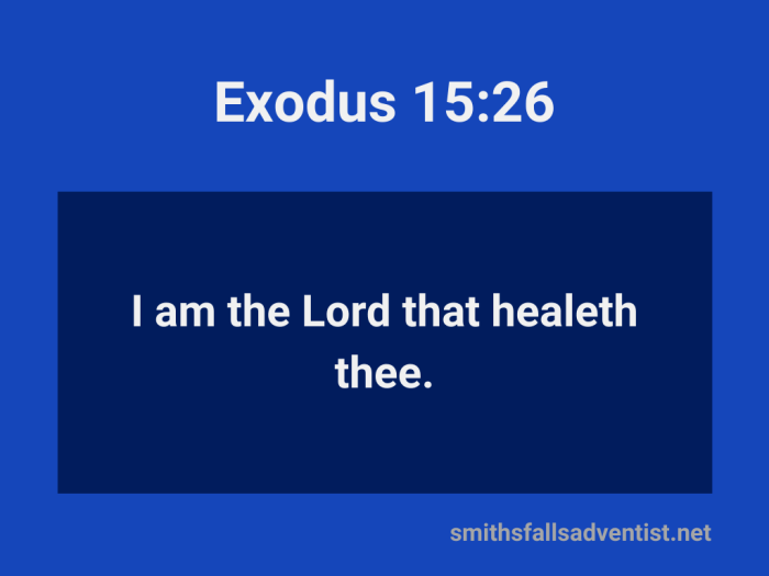 Illustration-background-light and dark blue-title-The Lord heals-text-Bible verse