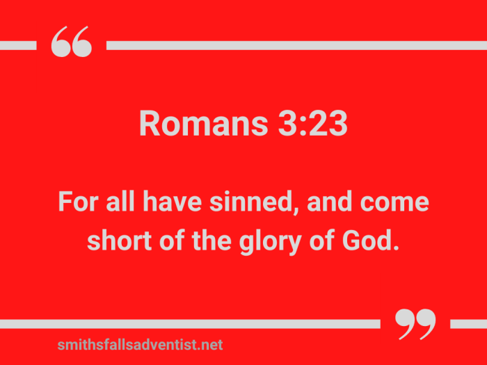 Illustration-red background-title-All have sin-text-Bible verse
