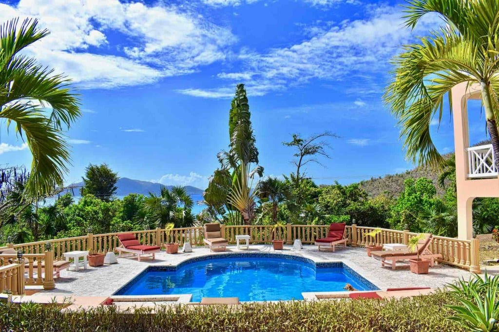 BVI Property Sade Villa Private Home with Guest Cottage featured image