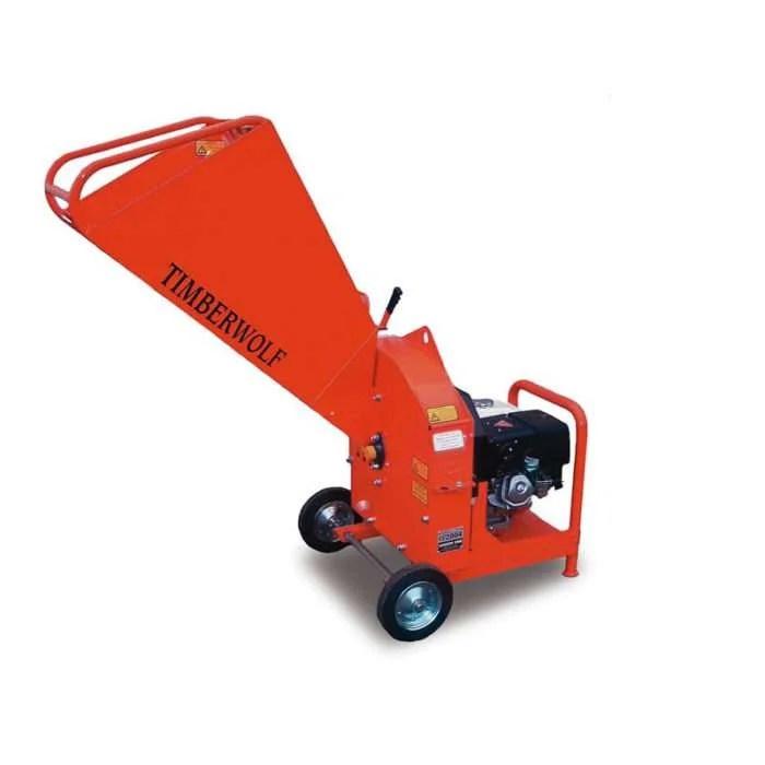Petrol Wood Chipper Shredder