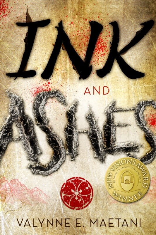 Ink and Ashes by Valynne Maetani + Author Interview [in Bloom