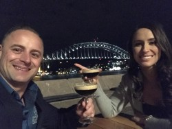 Man and woman in Sydney