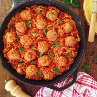 Beef Meatballs in Spicy Vegetables