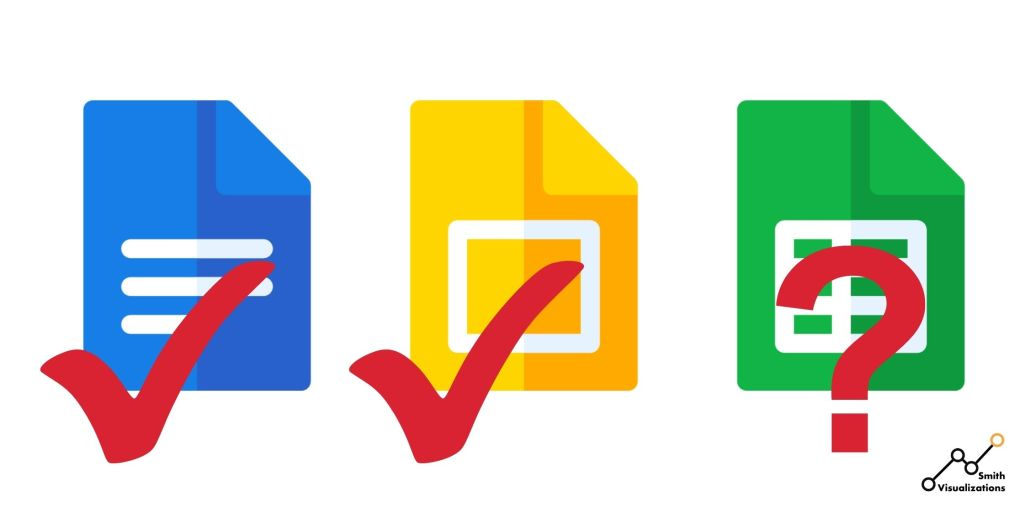 google docs google slides and google sheets