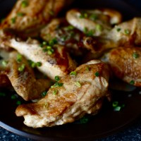 roast chicken with dijon sauce