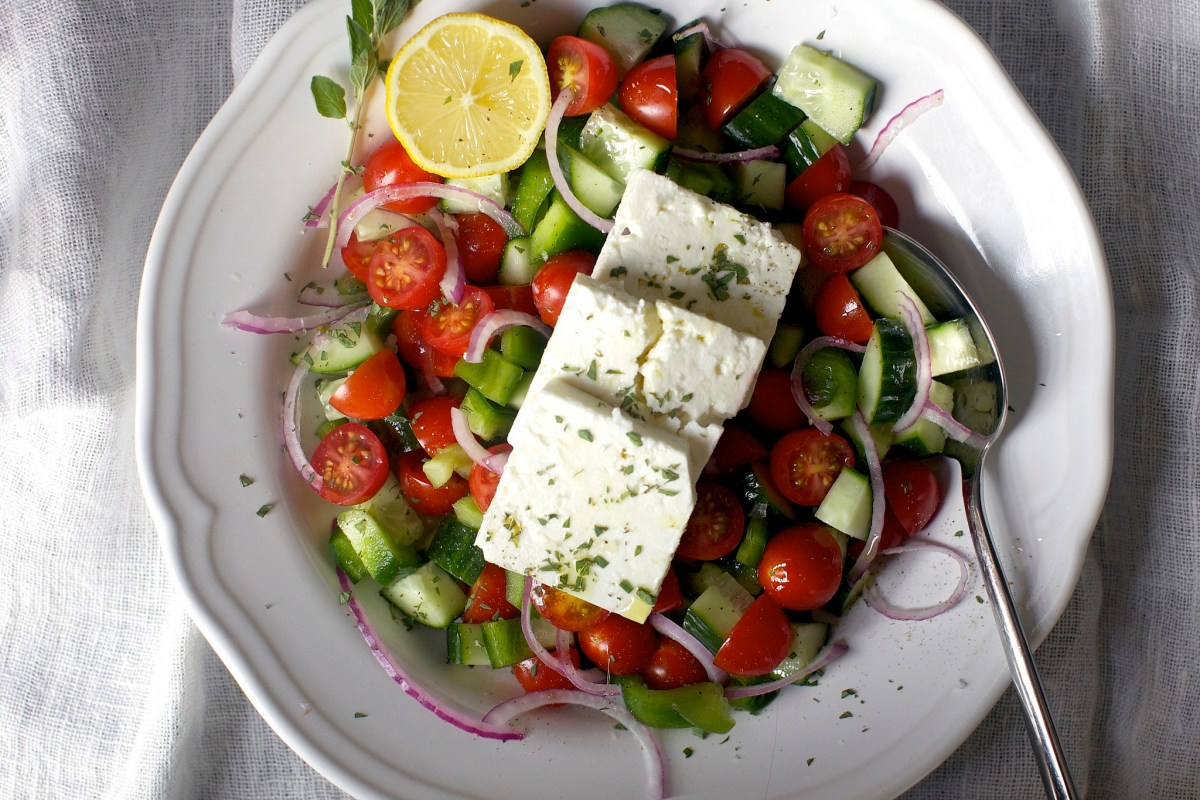 Greek Salad Recipe Epicurious