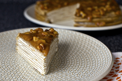 Banana Bread Crepe Cake With Butterscotch Smitten Kitchen