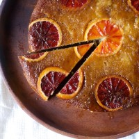 blood orange, almond and ricotta cake