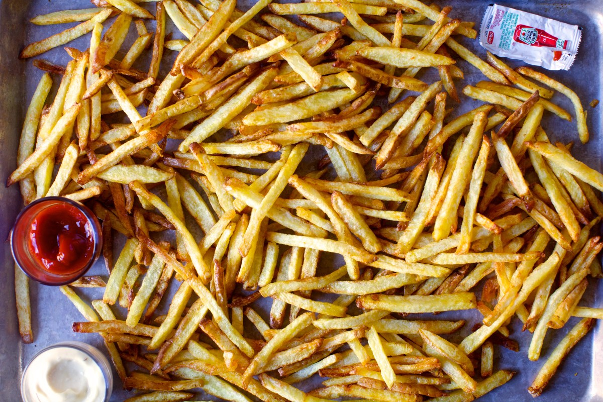 easiest french fries