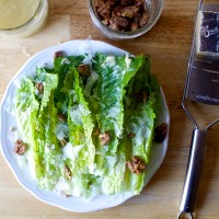 roberta's roasted garlic caesar salad