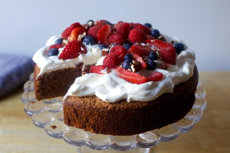 Wondrous Toasted Pecan Cake Smitten Kitchen Funny Birthday Cards Online Unhofree Goldxyz