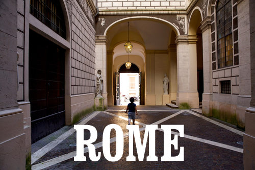 notes and tips from rome