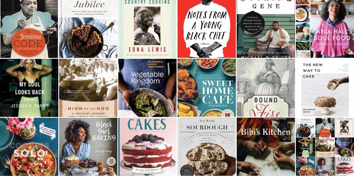 black cookbooks and memoirs