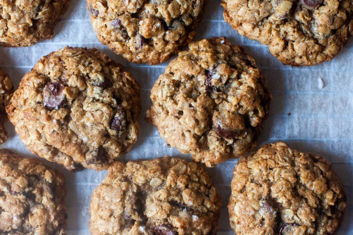 Whole Wheat Chocolate Oat Cookies Smitten Kitchen