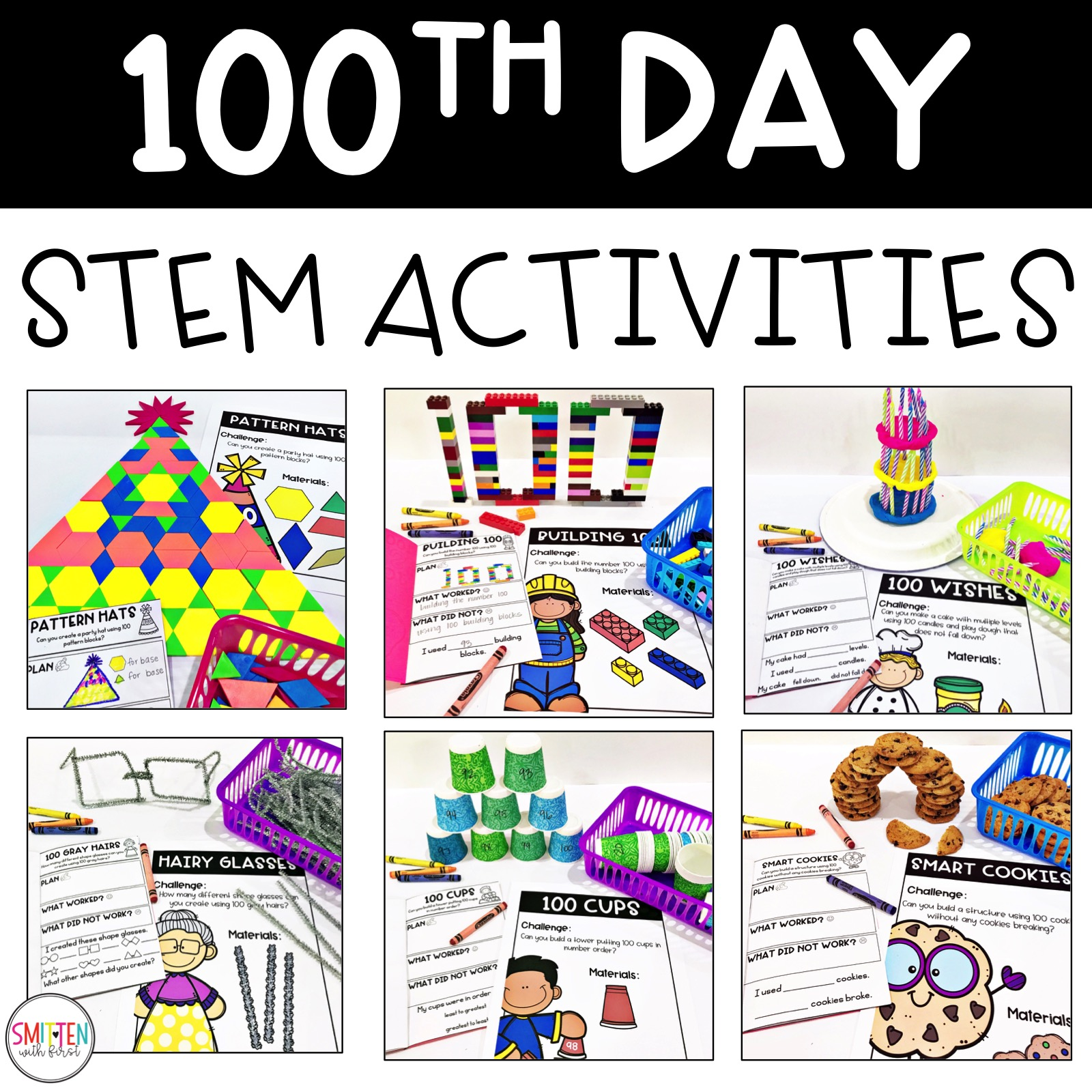 Stem Tastic 100th Day Of School