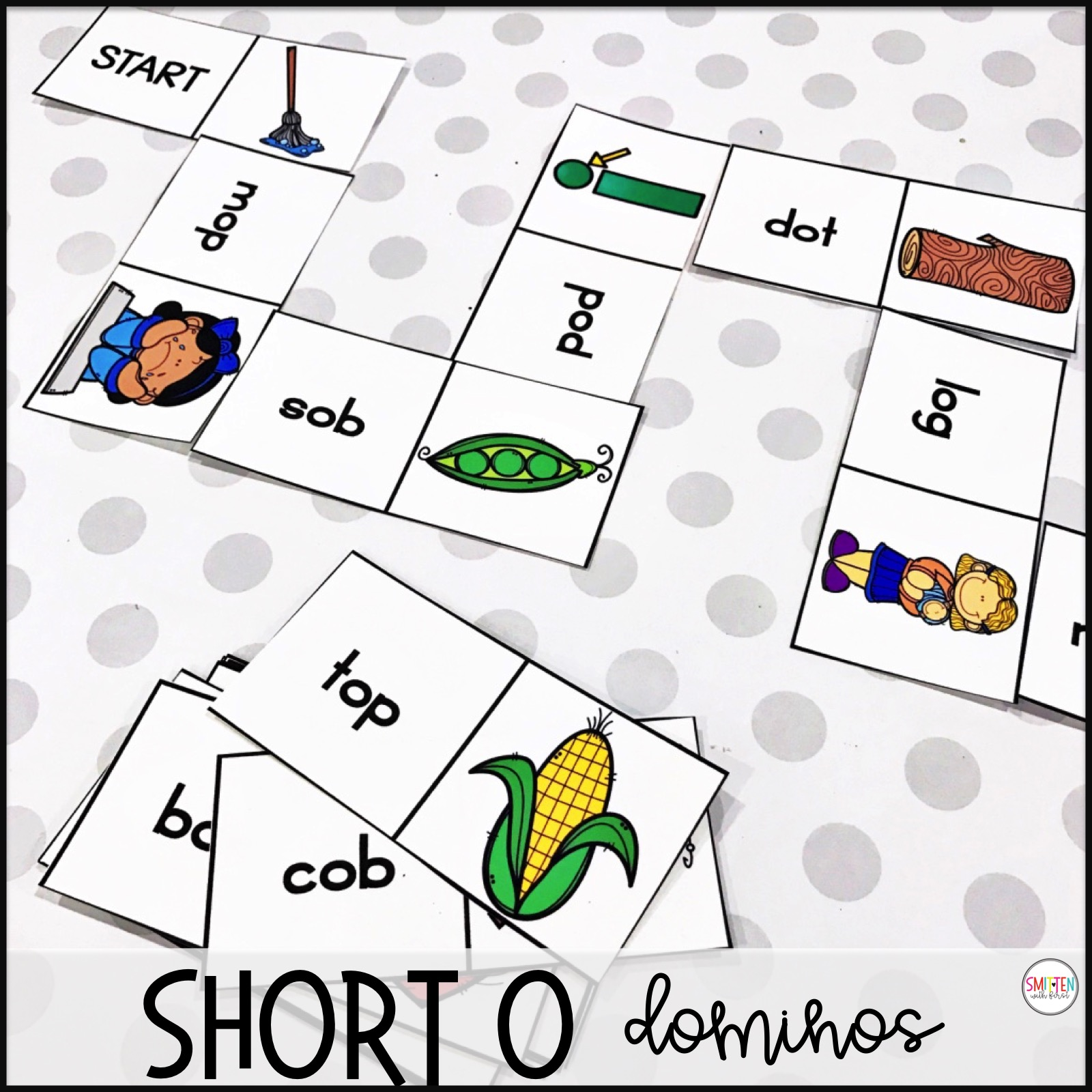 Short Vowel O Phonics Activities And Games